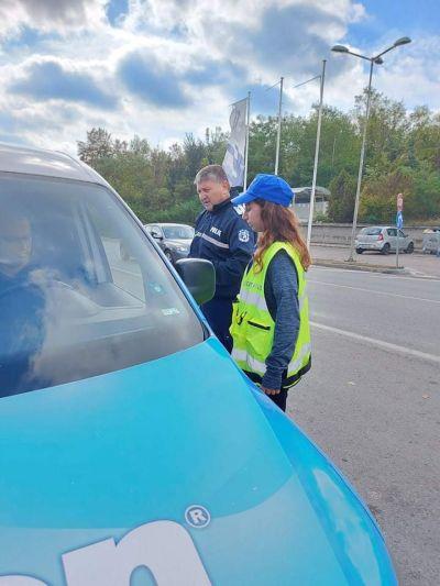 Акция пътна безопасност - СУ Тодор Кирков - Ловеч