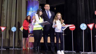Националния конкурс за рисунка Аз и Детското полицейско управление - СУ Тодор Кирков - Ловеч