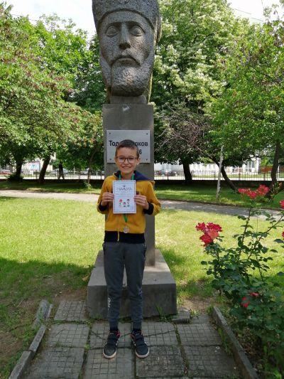 Със сребърни медали от състезанията на Сдружението на българските начални учители. - СУ Тодор Кирков - Ловеч